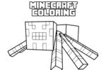 Tranh Tô Màu Minecraft, tải bộ tranh Tô Màu Minecraft về máy tính điện thoại