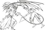 Tranh tô màu ichigo đấu với ulquiorra