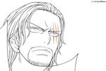 Tranh tô màu pháp sư gildart tức giận