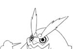 Tranh tô màu pokemon darmanitan