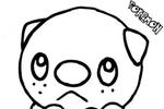 Tranh tô màu pokemon mijumura