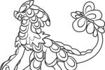 Tranh tô màu pokemon vảy jararanga