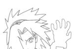 Tranh tô màu sakura giận dữ