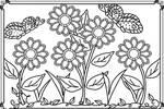 Tranh Tô Màu Vườn Hoa, tải bộ tranh Tô Màu Vườn Hoa về máy tính điện thoại