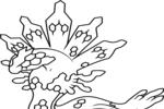 Tranh tô màu zygarde hình thái 50%