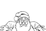Tranh Tô Màu Ông Già Noel, tải bộ tranh Tô Màu Ông Già Noel về máy tính điện thoại