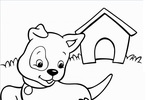 Tranh Tô Màu Con Chó, tải bộ tranh Tô Màu Con Chó về máy tính điện thoại