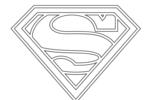 Tranh Tô Màu Siêu Nhân Superman, tải bộ tranh Tô Màu Siêu Nhân Superman về máy tính điện thoại