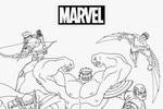 Tranh Tô Màu Biệt Đội Avengers, tải bộ tranh Tô Màu Biệt Đội Avengers về máy tính điện thoại