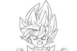 Tranh Tô Màu Goku, tải bộ tranh Tô Màu Goku về máy tính điện thoại