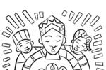 Tranh Tô Màu Lễ Kỷ Niệm Kwanzaa, tải bộ tranh Tô Màu Lễ Kỷ Niệm Kwanzaa về máy tính điện thoại