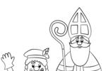 Tranh Tô Màu Ngày Thánh Saint Nicholas, tải bộ tranh Tô Màu Ngày Thánh Saint Nicholas về máy tính điện thoại